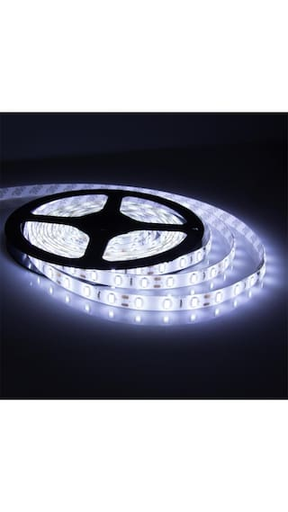 Buy 5 meter white led strip light with adapter online at low prices 5 meter white led strip light with adapter aloadofball Image collections