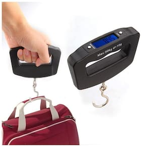 50kg Digital Weighing Scale Hand Gripped Portable for Luggage hook