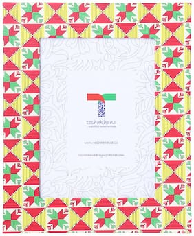 512L Photo Frame Paper Phulkari RD Punjab India