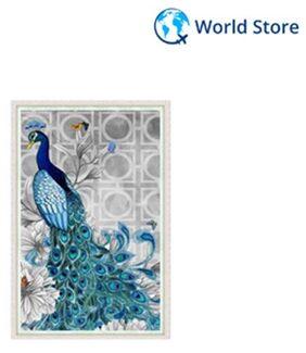 5D Diamond Embroidery Diy Peacock Stitch Craft Kit Painting