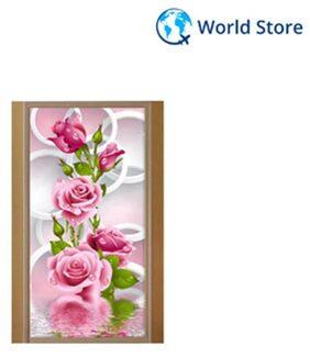5D Diy Diamond Painting Rose Flower Embroidery Diamonds Wall Stickers Decor