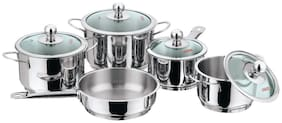 Vinod Cookware 5pc Induction  Friendly Tuscany