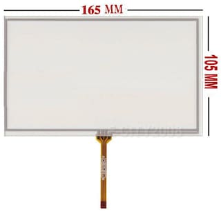 "7"" 4 Wire Resistive Touch Panel 165X105mm For AT070TN83 V.1 LCD Panel US Seller"