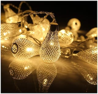Buy 7 M 20 Led Decorative Lights For Home Chrismas Landscape Wedding Party Holiday Yellow Online At Low Prices In India Paytmmall Com