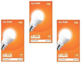 7 WATT CLAIR LED BULB (COMBO OF 3)
