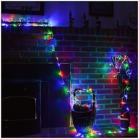 8M 26LED Outdoor Led Light Room Fairy Light String Indoor for Garden Tree Home Decoration(R.G.B)