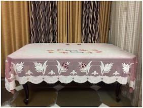 A & H Enterprises Polyester 6 Seater Table Cover For Dining Table