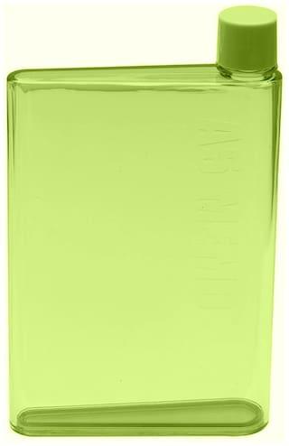 Painter & Elephant 420 ml Plastic Green Water Bottles - Set of 1