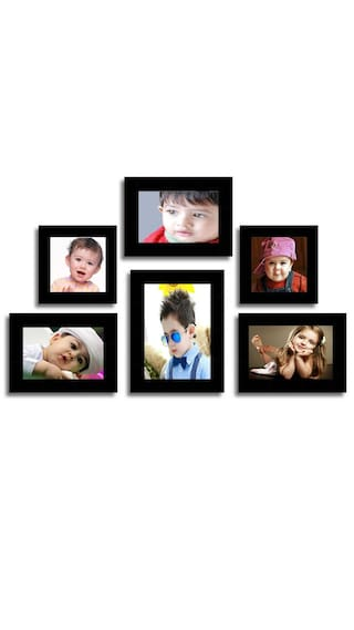 Buy Aadinath Collection individual Wall Photo Frame (Multi Size 6 ...