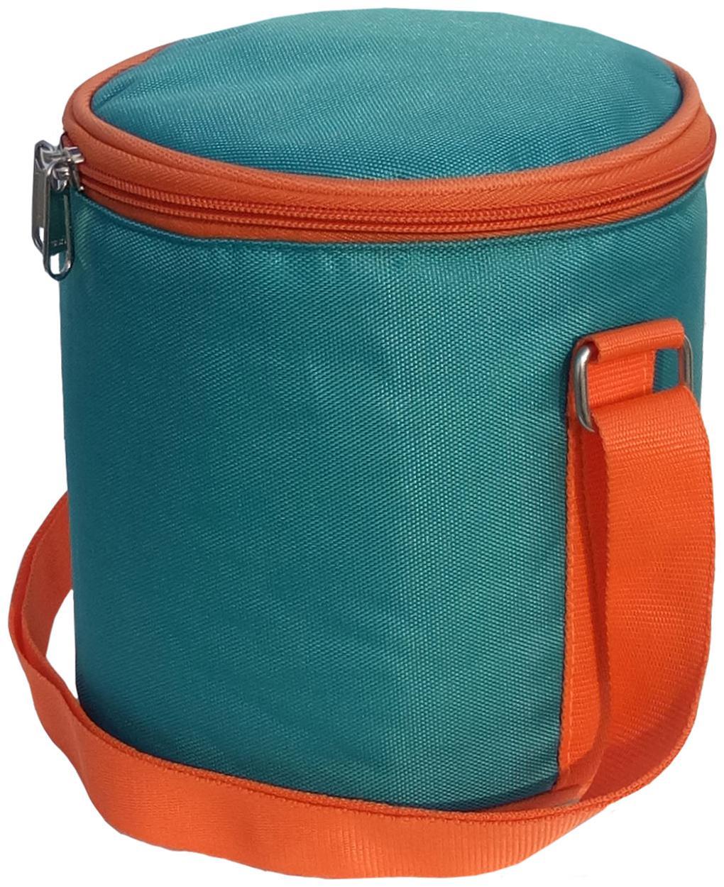 Aafeen Sea Green Waterproof Lunch/Tiffin Bag by Aafeen Com