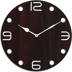 AALAPINO Brown Wall clock
