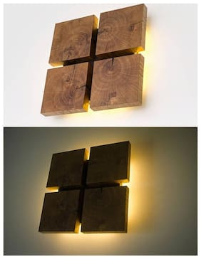 Aartic Modern Art Warm White shadow Wall Led Light