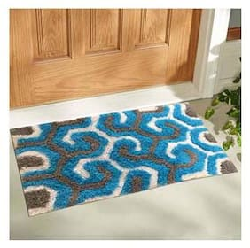 Aazeem Cotton Multicolor Door Mat