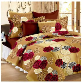Aazeem Double Bed Duvet Cover With Zip Closure