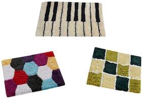 Aazeem Multicolor Cotton Door Mat