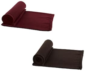 AAZEEM Single Bed Super Lite Blanket - Pack Of 2