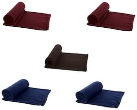 Aazeem Single Bed Super Lite Blanket Pack of 5