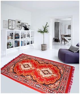 Aazeem Traditional Polyester Carpet