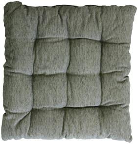 Aazeem Velvet Chair Pad Cushion (Pack Of 1)
