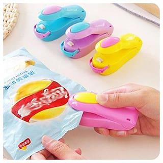 Handheld Heat Bag Sealer  for Airtight Food Storage, Reseals Snack Bags, Heat Seals Plastic Aluminum Bags(random color)