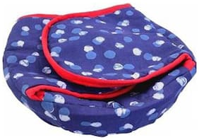 AC Roti Cotton Cloth Basket;Washable with Chain;Roti Rumals with Assorted Colour;Pure Cotton Cover