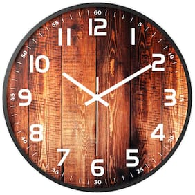 Accents & Decor Plastic Analog Wall clock ( Set of 1 )
