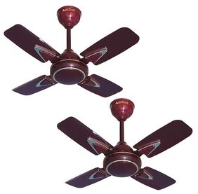 Activa Galaxy-1 600 Mm Ceiling Fan - Brown , Pack Of 2