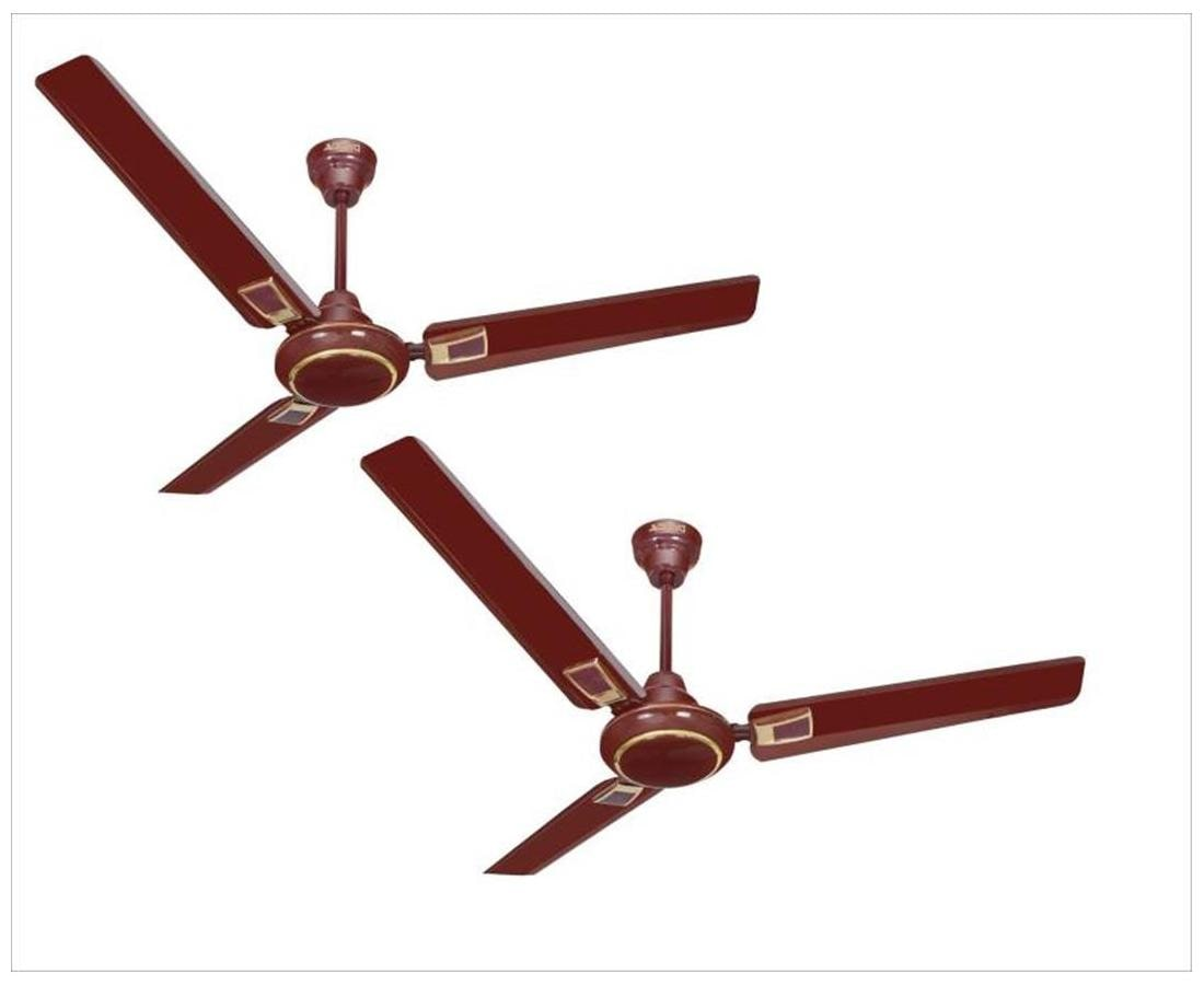 Activa Galaxy Deco 1200MM Ceiling Fan (Brown) Pack Of 2