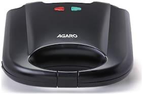 Agaro Sandwich Maker - 750 Watts with 4 slice fixed plates