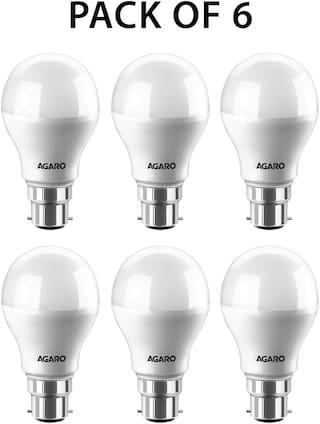 Agaro Led Bulb Smart 12 watt (Pack of 6)