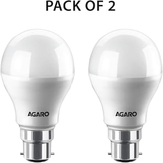 Agaro Led Bulb 9watt (Pack of 2)
