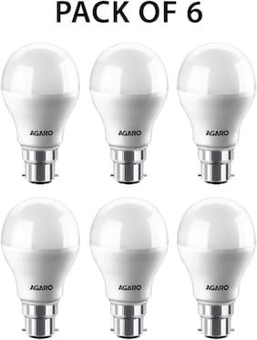 Agaro Led Bulb Smart 9watt (Pack of 6)
