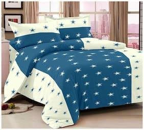 Ahmedabad Cotton Aspire Cotton Sateen Double Bedsheet