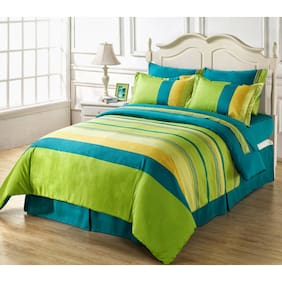 Ahmedabad Cotton Superior Cotton Double Bedsheet And 2 Pillow Cover