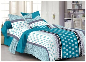 Ahmedabad Cotton Basics Cotton Single Bedsheet And 1 Pillow Cover