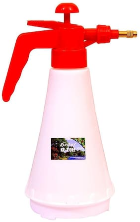 Air Pressure Water Hand Held Sprayer Bottle 1.5 litre for Home Terrace Organic Gardening