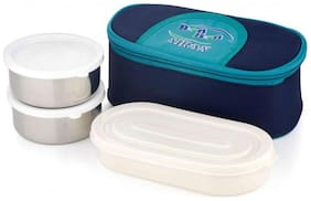 Airan 1 Containers Plastic Lunch Box - Assorted