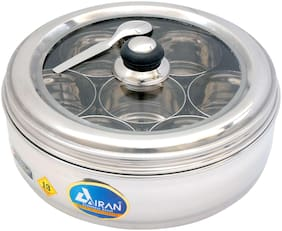 Airan Stainless Steel Large Spice Container 13 No.