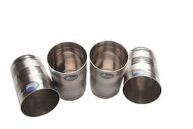 Airan Stainless Steel 4 Pcs Glass Set