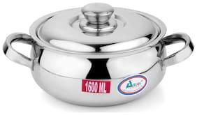 Airan stainless steel Belly Casserole 1600ml