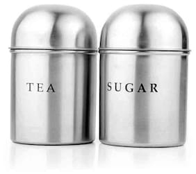 Airan Tazzgi Stainless Steel Dome Tea Container Set