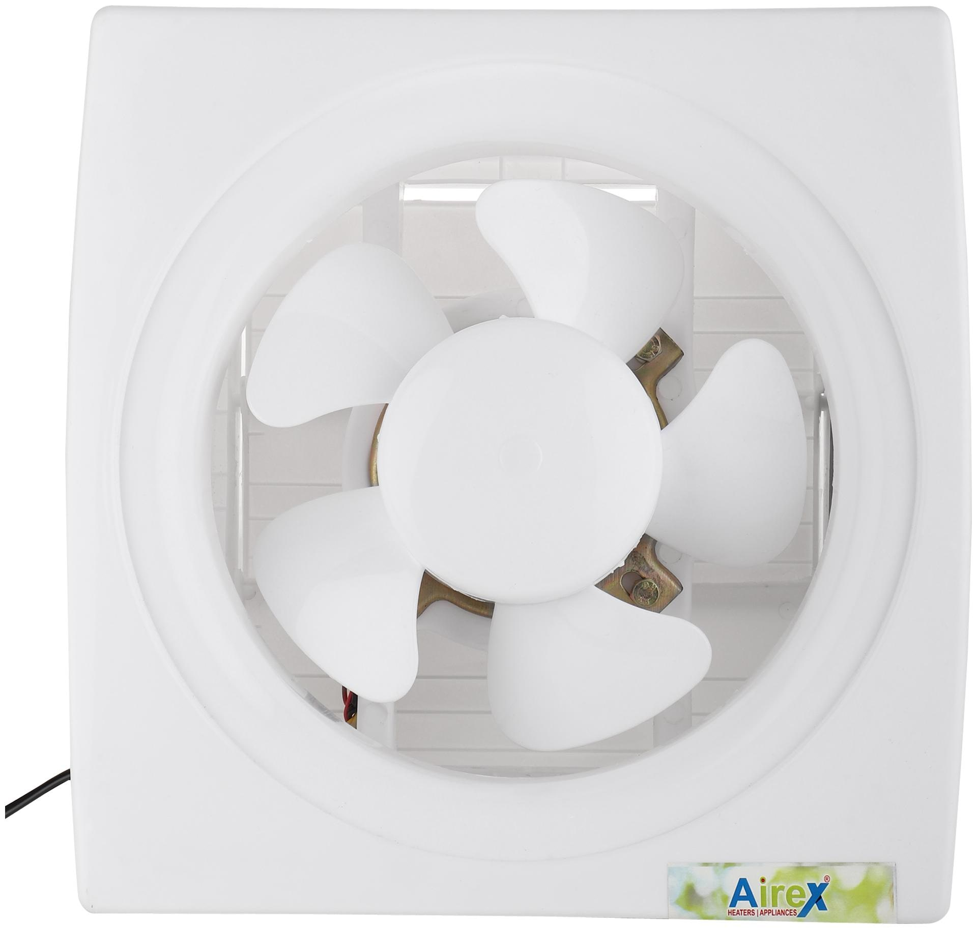 Airex AE 286 200 mm Exhaust Fan  White