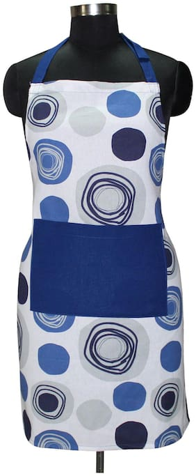 Airwill Cotton Apron Multi ( Pack of 1 )