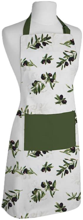 Airwill, 100% Cotton Designer Aprons with Premium Quality  Adjustable Size Aprons. Size:  65x80 cm and 1 Centre Pocket Size: 30x20cm.