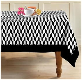 Airwill, 100% Cotton Designer Pattern 6 Seater Table Cover/Teapoy Cover