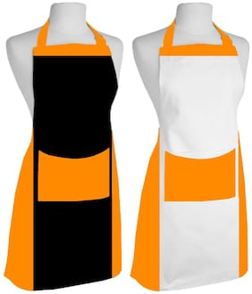 Airwill Apron,Fashion Printed Damask Women Kitchen Apron with Adjustable Buckle on Neck & 1 Center Pocket