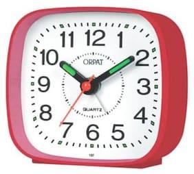 Ajanta Plastic Analog Table clock ( Set of 1 )