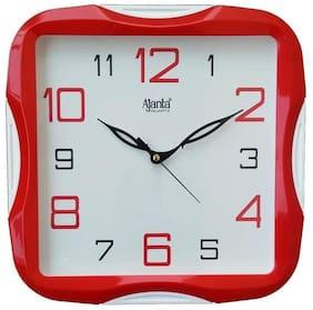 Ajanta Red Wall clock