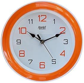 Ajanta Orange Wall clock