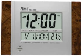 AJANTA ODC 130 LED DIGITAL WALL & TABLE CLOCK